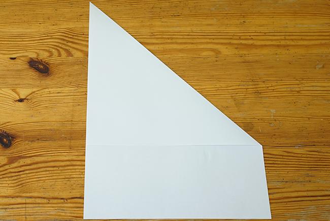 紙飛行機 折り方