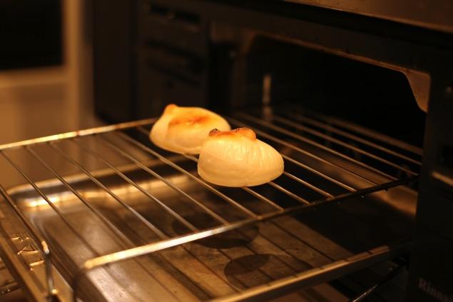 餅 くっつかず焼ける