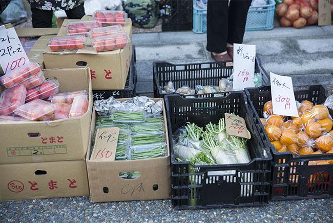 まっちゃ朝市 野菜