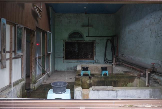 万田坑 風呂