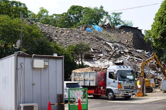 熊本城 被害