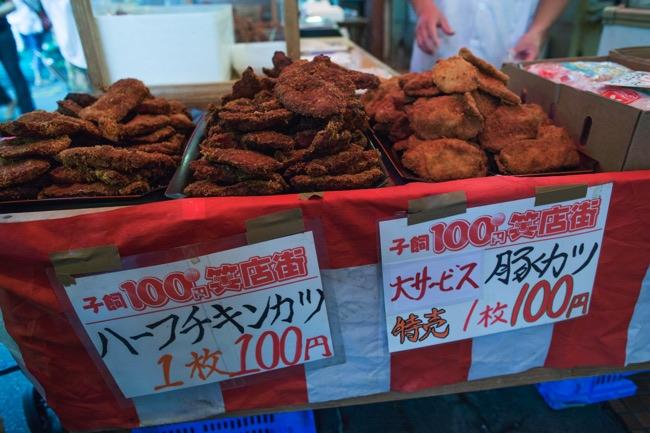 100円とんかつ