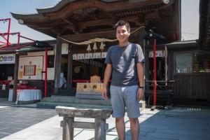 ご利益あり?日本一のミニ鳥居がある粟島神社でお祈りしてきまし...