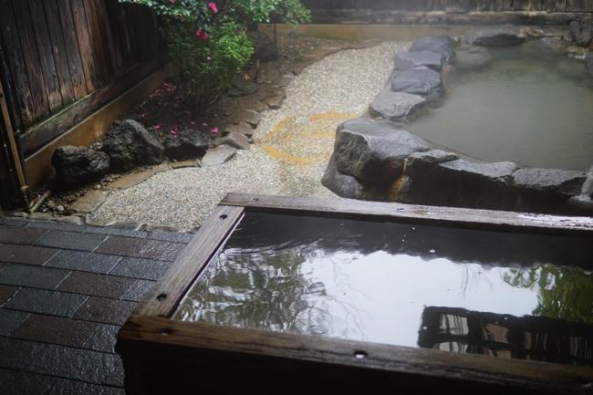 植木 家族風呂