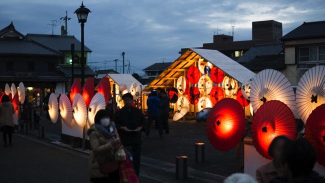 山鹿 灯籠祭り