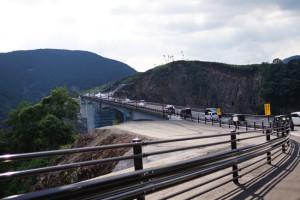 ついに復旧した南阿蘇への「長陽大橋」これで南阿蘇へのアクセスが劇的に改善されます