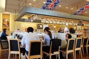 そろそろ普通の回転寿司に飽きてきたので、ネオ回転寿司の「寿司虎」をご紹介する