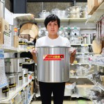 プロの料理人が集う厨房用品店テンポスバスターズは素...
