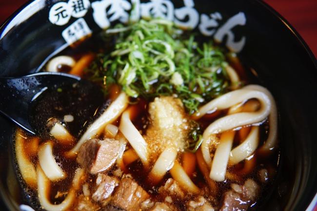 肉肉うどん 熊本