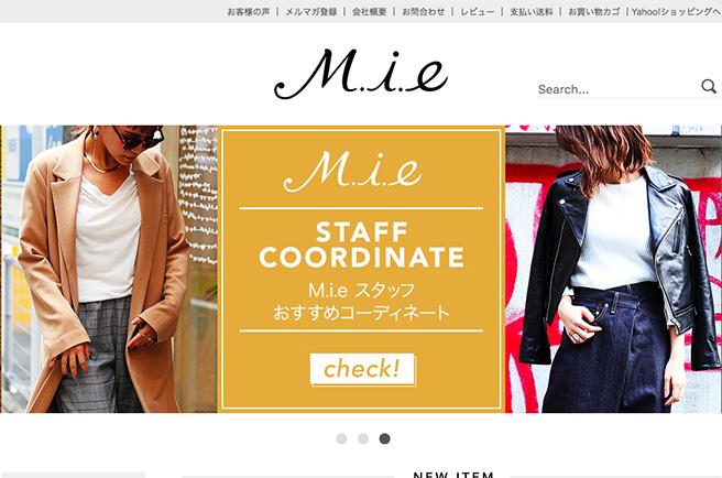セレクトショップ M.i.e 【ミィ】
