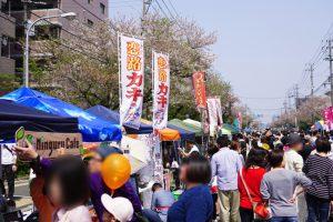 【2018春】今年も健軍自衛隊通り桜まつりに行ってきました!