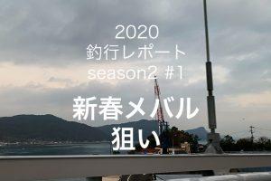 【やなの釣行レポート season2#1  】新春メバル狙い