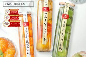 ふみこ農園 果実の宝石箱 フルーツコンポート3本セット