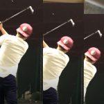 【ゴルフ】ちびゴルファー猿